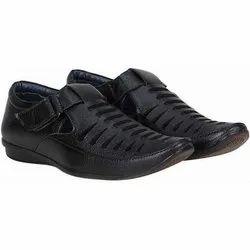 ARAV-IND Casual Men Daily Wear Leather Sandal, Size: 6-10