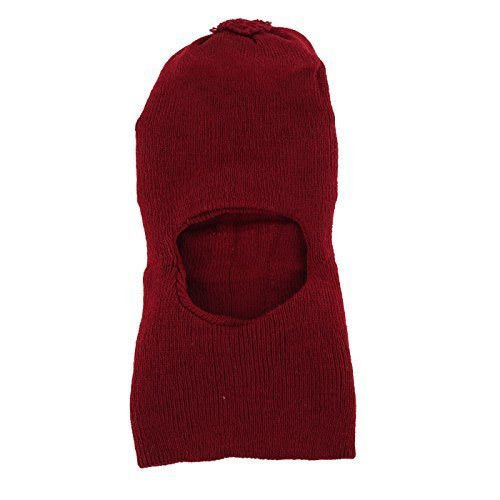Red Woolen Monkey Cap 088674f9479