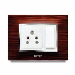 Wooden Modular Switch Board