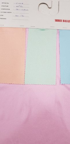 Knitted Fabric - Polyester Jersey fabric 1 Manufacturer from Tiruppur