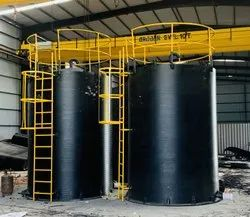 Spiral HDPE Chemical Tank