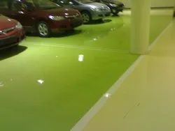 Epoxy Car Flooring