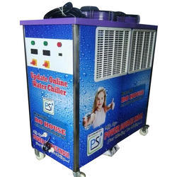 Single Phase 5 Ton Industrial Water Chiller