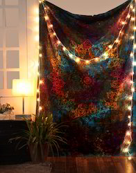 Gypsy Mandala Tie Dye Print Multi Color Decorative Boho Tapestry Wall Hangings