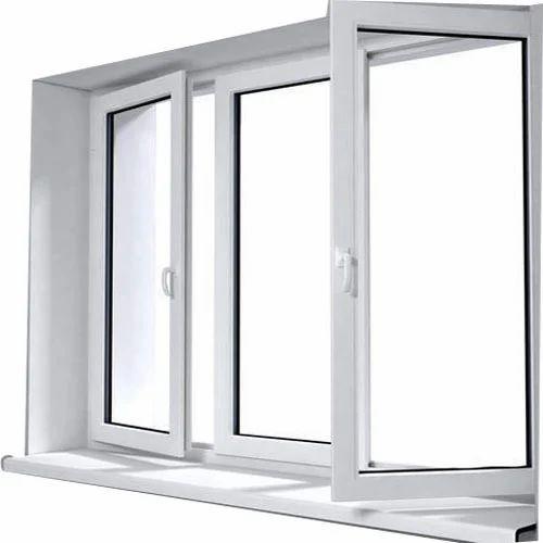 Upvc Hinged Window At Rs 450 Square Feet Unplasticized