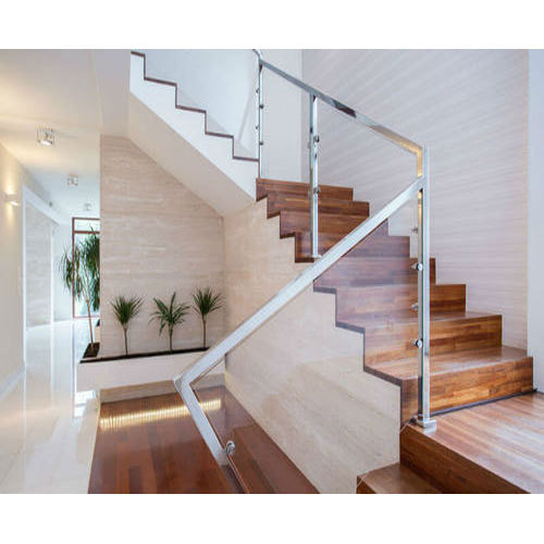 Staircase Glass Railing Designs: Modern Glass Railing At Rs 450 /square Feet