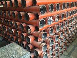 Jayswal Neco Cast Iron Spun Pipes 100MM, Waste Water