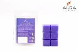 AuraDecor Lavender Scented Wax Melt Cubes