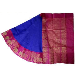 Uppada Silk Saree, Construction Type: Machine