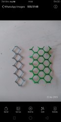 Hexagonal Wire Mesh, For Fencing, Material Grade: 350 Gsm Coating