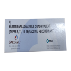 Gardasil 0.5ml Injection