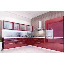 Attractive Acrylic Modular Kitchen