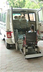 Wheelchair lift for Vehicle