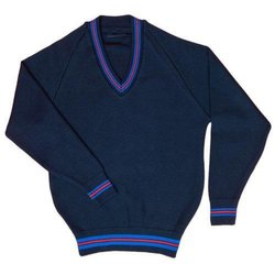 V Neck School Uniform Sweater