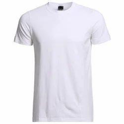 White Men's Cotton T-Shirt