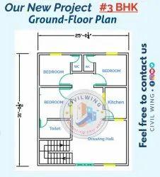 2d & 3d Design Autocad Residential Building Designing, 6 Rs Square Foot