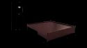 Metal Liva King Size Bed With Storage