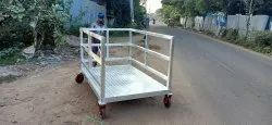 Aluminum Movable Platform Trolley