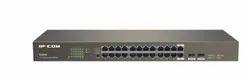 IP Com Gigabit PoE Switch 24 Port, Less than 20W, Model Name/Number: G1024f
