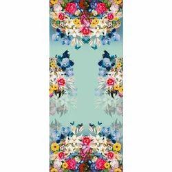 One Week Rayon Fabrics Digital Printing Service, Digital Textile Printing