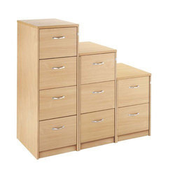Wood Brown Filing Cabinets