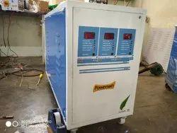 100 KVA Oil Cooled Servo Voltage Stabilizer