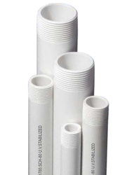ASTM High Pressure UPVC Threaded Pipes