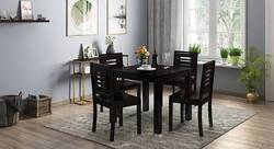 Nijel 4 Seater Dining Table Set