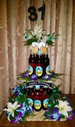 Home Happy Birthday Bottle Bouquets
