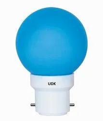 Polycarbonate Round Deco Mini 0.5W LED Bulb UDK