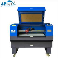 AP-1610 Camera On Head Fabric Laser Cutting Machine