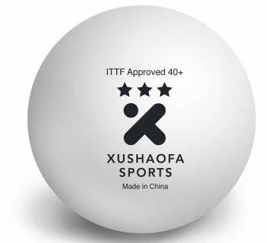 Xushaofa Seamless Poly Plastic 3 Star Table Tennis Ball