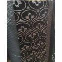 Black Flock Fabric