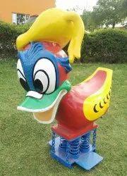 Kids Jumping Duck Ride