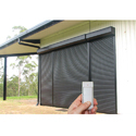 Motorized Remote Rolling Shutter