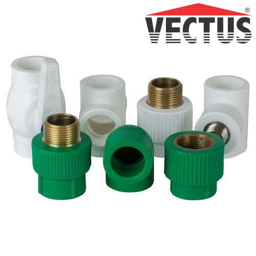 Vectus PPR Hot & Cold Water Piping Fittings, वेक्टस