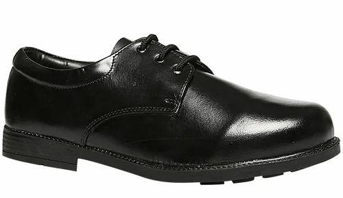 Black Bata Black School Shoes For Boy