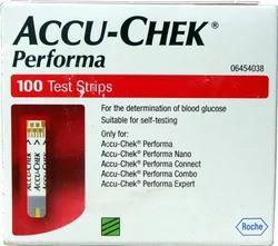Accuchek Performa Glucometer Strips 100 T