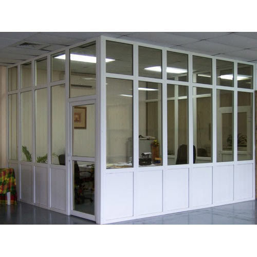 Aluminum Frame Office Parion At Rs