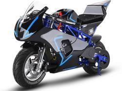 33cc 2 Stroke Premium Pocket Bike   M3 BLUE