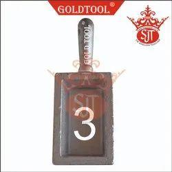 Gold Tool Ingot Mold Casting No. 3 per Kg.