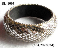 Lac Mirror Work Bangles
