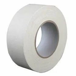 CNC White & Black Cotton Tape, Packaging Type: Roll