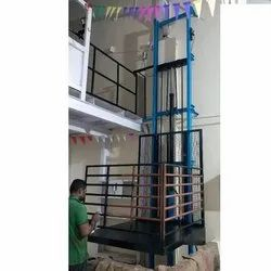 Bright Equipments MS Industrial Hydraulic Goods Lift, Capacity: 1-5 ton