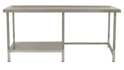 Silver Stainless Steel Table Rs Foot J B Industries ID - 5 ft stainless steel table
