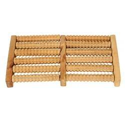 Wooden Acupressure Foot Roller