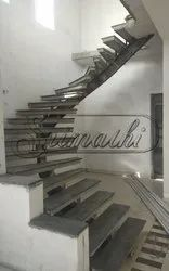 Mild Steel Ms Staircase