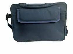 Blue Matte Office Bag, Capacity: 15 L, Size/Dimension: 14 Inch