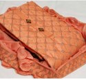 Chudidar Cotton Orange Colour Dress Material ( I Will Provide Costmise Stiching)
