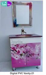 21 Digital PVC Vanity Set